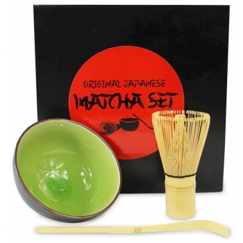 ZESTAW DO PARZENIA HERBATY MATCHA - MATC HA MAGIC