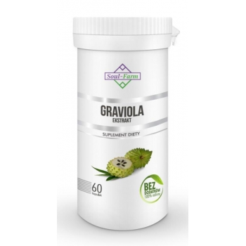 GRAVIOLA EKSTRAKT 550mg 60 KAPSUŁEK - SO UL FARM