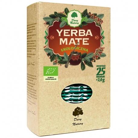 YERBA MATE BIO (25 x 2 g) - DARY NATURY