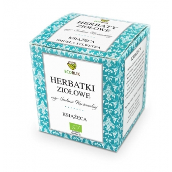 HERBATKA KSIĄŻĘCA BIO 20 x 2 g - ECOBLIK
