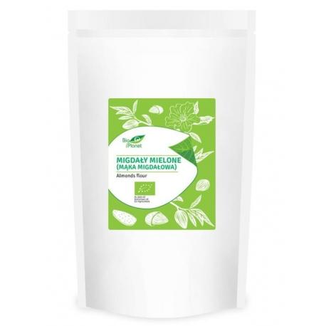 MIGDAŁY MIELONE (MĄKA MIGDAŁOWA) BIO 400  g - BIO PLANET
