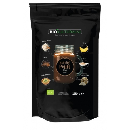 MIESZANKA SUPERFOODS STRONG POINT BIO 15 0 g - BIOKULTURALNI