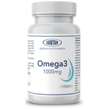 OMEGA 3 1000 mg 90 KAPSUŁEK - JANTAR