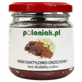 KREM DAKTYLOWO-ORZECHOWO-KAKAOWO-POMARAŃ CZOWY BIO 200 ml - POLONIAK