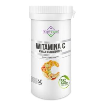 WITAMINA C (KWAS L-ASKORBINOWY) 800 mg 6 0 KAPSUŁEK - SOUL FARM