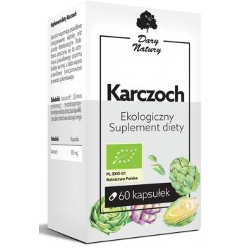 KARCZOCH BIO 60 KAPSUŁEK (550 mg) - DARY  NATURY