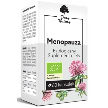 MENOPAUZA BIO 60 KAPSUŁEK (270 mg) - DAR Y NATURY