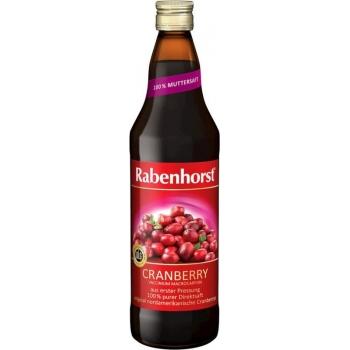 SOK Z ŻURAWINY 100% 750 ml - RABENHORST