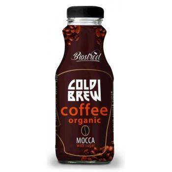 KAWA PARZONA NA ZIMNO COLD BREW MOCCA Z  CUKREM BIO 250 ml - ALE EKO CAFE (BIO ST