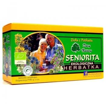 HERBATKA SENIORITA BIO (20 x 2 g) - DARY  NATURY