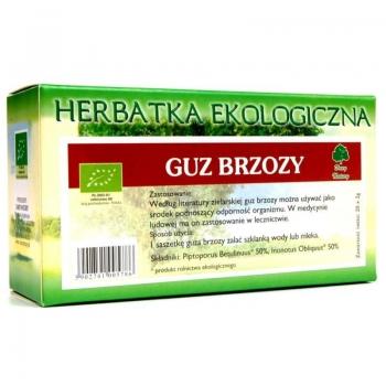HERBATKA GUZ BRZOZY BIO (20 x 2 g) - DAR Y NATURY