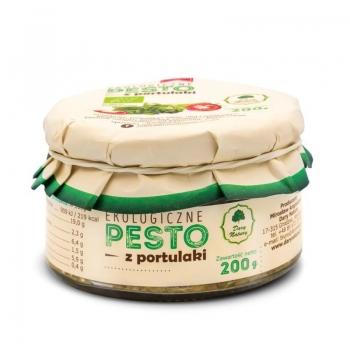 PESTO Z PORTULAKI BIO 200 g - DARY NATUR Y