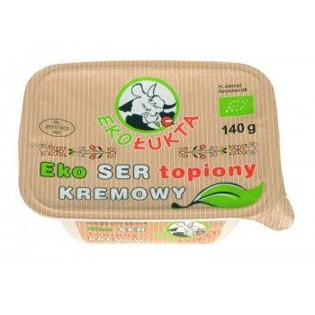 SER TOPIONY KREMOWY BIO 140 g - EKO ŁUKT A
