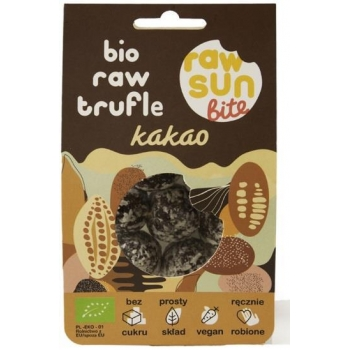 TRUFLE KAKAOWE BIO 105 g - RAW SUN BITE