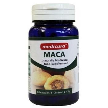 MACA (KORZEŃ) W KAPSUŁKACH 45 g (60 szt. ) - MEDICURA